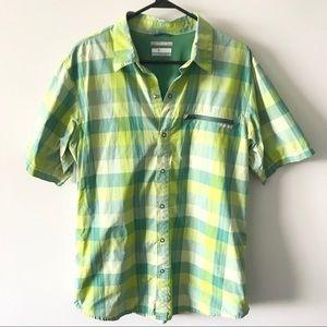 Columbia Short Sleeve Shirt Omni Shield Outdoors G